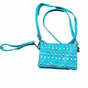 Charming Charlie wristlet or crossbody purse
